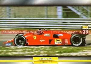FERRARI-F-187-F-188-C-F187-F188-1988-Fiche-Auto-Collection
