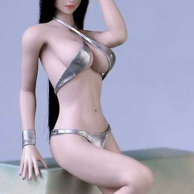 Clothing Model 1//6 Scale Bikini Clothes Accessories Female Swimsuit Set for 12