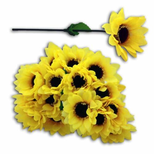 HAAC 20er Set künstliche Sonnenblume 17 cm
