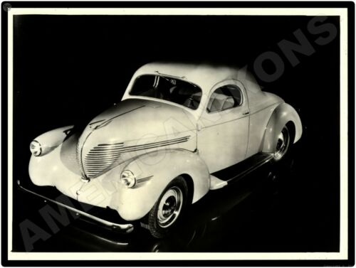 1938 Willys Automobile New Metal Sign Americar Model From Original Press Photo