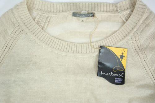 Crew Smartwool Nwt 888658614271 Størrelse Xl Kvinder Uld Hvid Sweater Ny Blend Langærmet R0Oqxw1dx