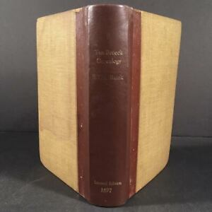 Albany NY: 1897 First Edition THE TEN BROECK GENEALOGY, #29 of 100 Copies, Rare