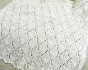 KNITTING-PATTERN-Baby-Blanket-DK-blanket-pattern-Ship-Ahoy-Pattern