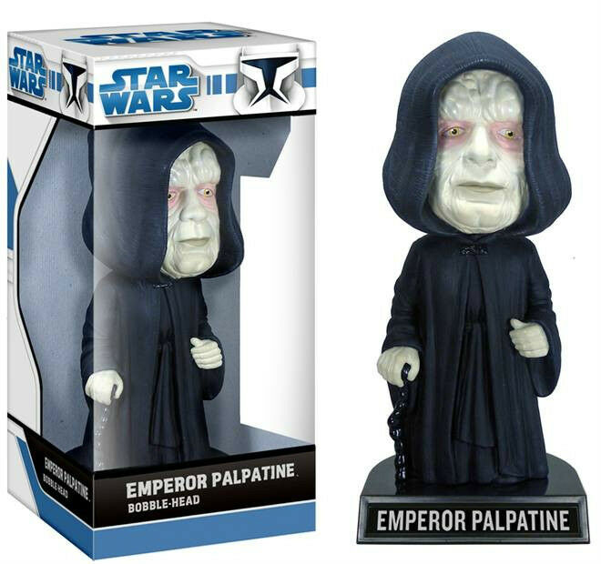 Star Wars Palpatine PVC Bobble-Head 18cm