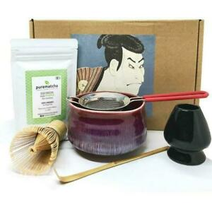 Organic Japanese Uji Matcha Green Tea Powder - 70g Purematcha Ceremonial Grade