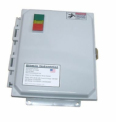 Elimia DOL 1.6-2.5-480LCS 1 HP 480V Magnetic Motor Starter Nema Rated 4X UL508A