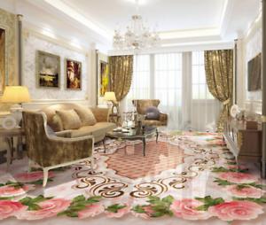 3D Pink pinks Frame 933 Floor WallPaper Murals Wall Print Decal AJ WALLPAPER US