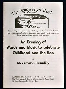 Pendyffryn-Trust-Programme-Words-Music-Celebrate-Childhood-and-the-Sea-London