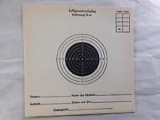 Luftgewehrscheibe German Air Rifle Pistol Targets 10m. Lot of 25 1940's? New