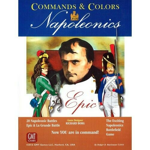 Commands & Farbes  Epic Napoleonics, Expansion, New by GMT, English Language