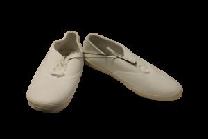 Ladies White Canvas Shoes Size 41 UK