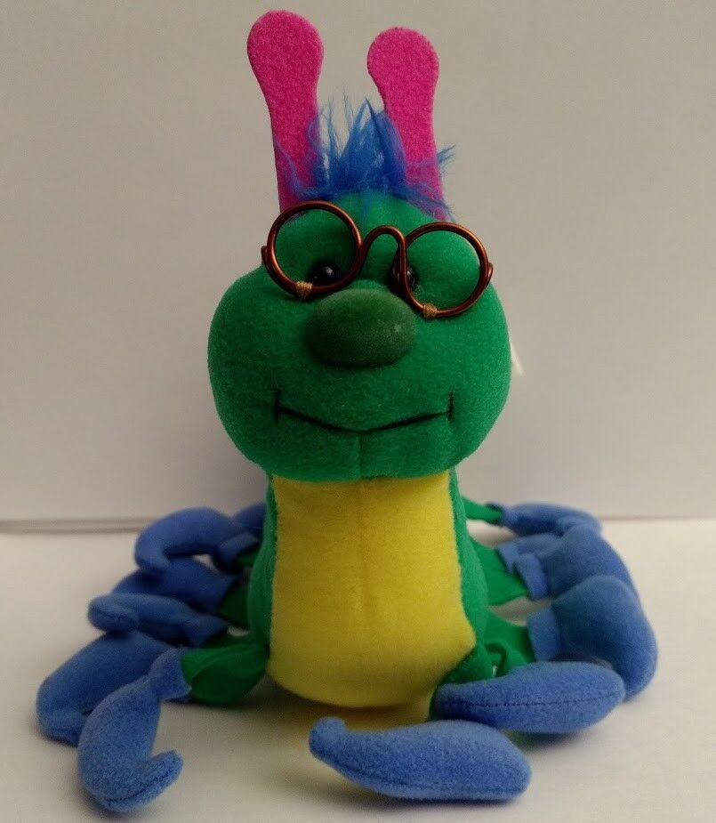 Highsmith Highsmith Highsmith Upstart Books Bookworm Plush Toy Bean Glasses Caterpillar Boots Green 7e865c