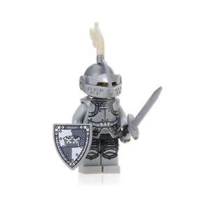 Chevalier-armure-Arme-mini-figurine-personnage-medieval-chateau