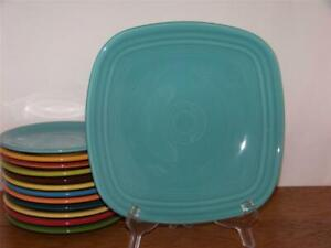 Fiesta-TURQUOISE-9-034-Square-Luncheon-Plate-1st-Quality