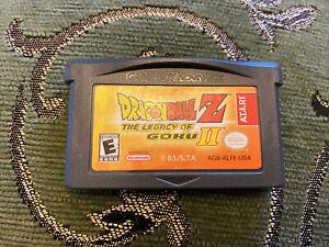 Nintendo Gameboy Advance Game Dragonball Z Legacy Of Goku II Genuine Nintendo