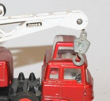 DINKY REPLACEMENT HOOK & CORD 1960's  #970 Jones Fleetmaster Cantilever Crane