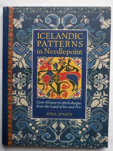 Icelandic Patterns in Needlepoint: Over 40 Easy-to-Stitch Desig .9780715399880