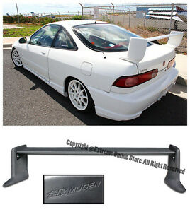 For 94 01 acura integra dc2 mugen gen 2 style rear trunk for 180sx window louvers