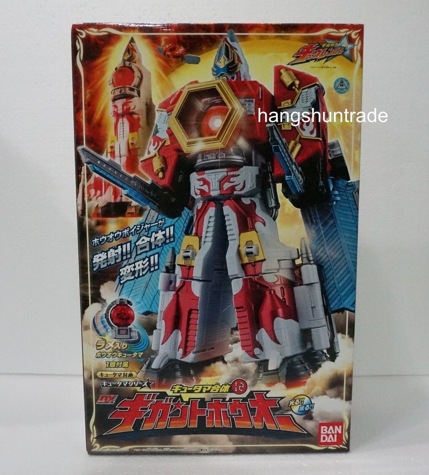 Bandai Power Rangers kyuranger DX kyutama Gattai Gigant Houou figura