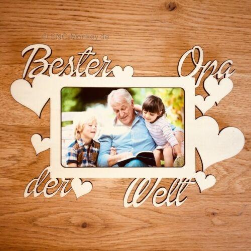 Bilderrahmen Bester Opa der Welt