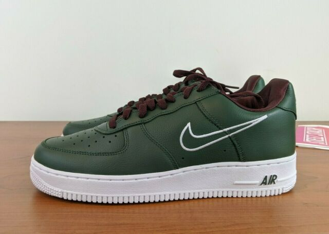 forest green air force 1