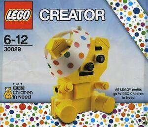 LEGO-CREATOR-Gesund-werd-Baer-039-Take-Care-Bear-039-90-Teile-30029-Pudsey-Bear