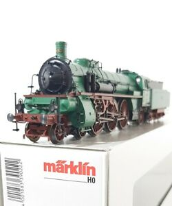 MARKLIN-39022-HO-METAL-MFX-SOUND-BADEN-CLASS-IVh-PACIFIC-LOCOMOTIVE-No-1013