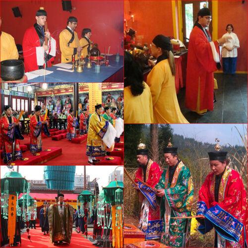 Chinese Taoist Sorcery Amulets; Good lucks God Protect Body Talismans; Ofuda