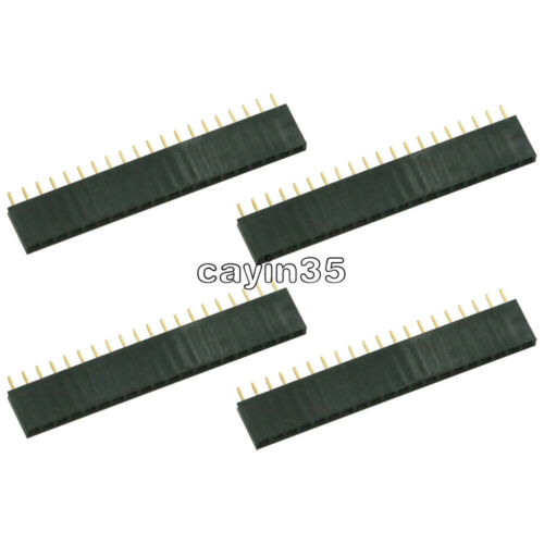 10PCS Single Row 20Pin 1x20 Female Socket Connector 2.54mm Pitch