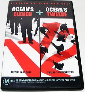 OCEANS-ELEVEN-OCEANS-TWELVE-Dvd-2-Disc-Set