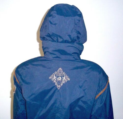 Jacket Coat Ski Thermolite Hood Kvinder Blue Obermeyer Wellington 6 Broderet W0Yx6tU4n