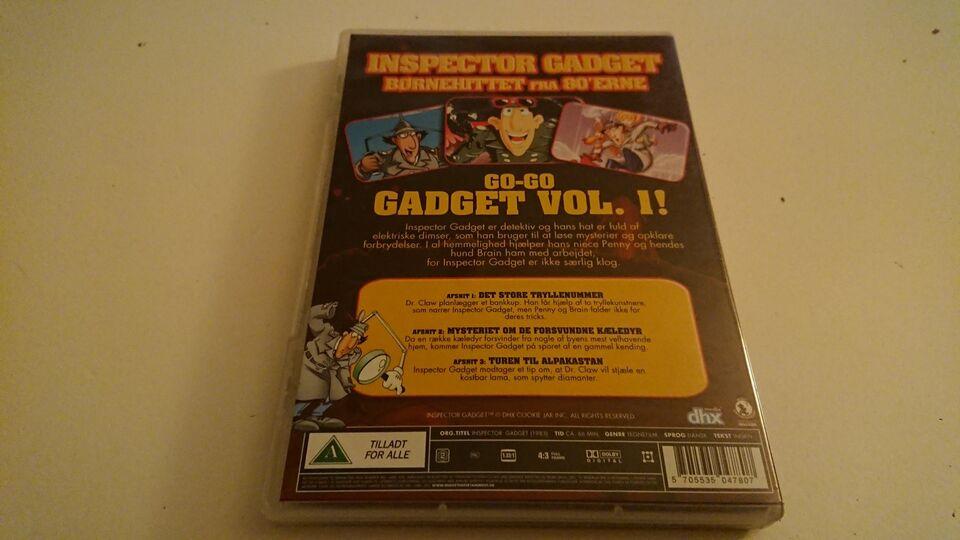 Inspector Gadget, DVD, tegnefilm