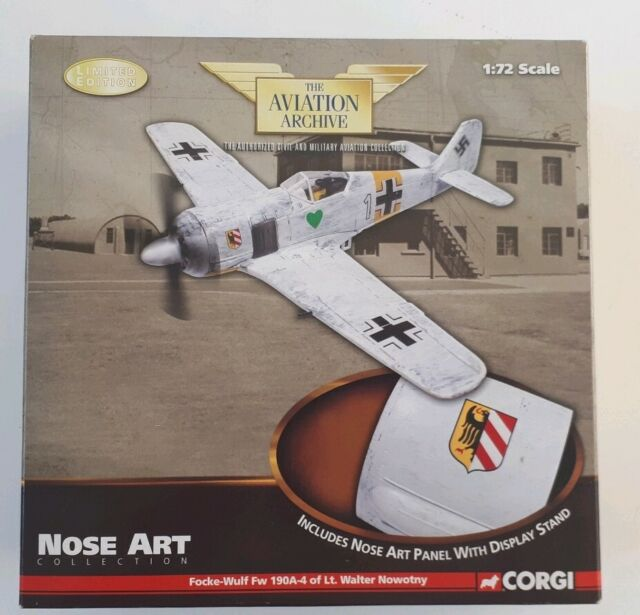 US34308 - Focke-Wulf Fw 190A-4 of Lt. Walter Nowotny, USSR - Nose Art Collection