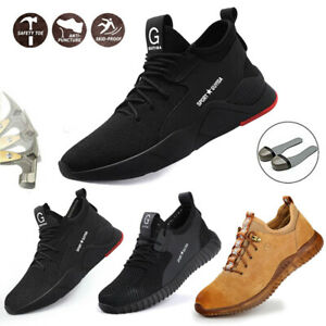 Chaussures De Sécurité Unisexe S3 Travail Bottes Légèr Respirant Embout D'acier Prix RéDuctions