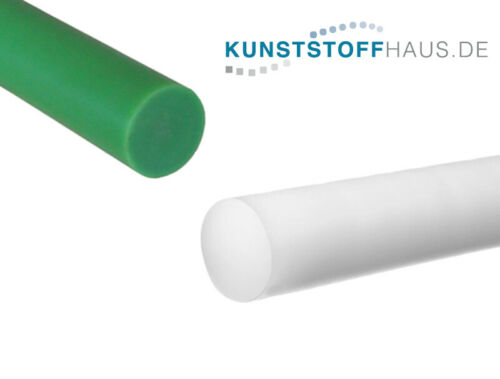 PE1000 Grün Polyethylen PE-UHMW-Rundstab 80x1000 mm