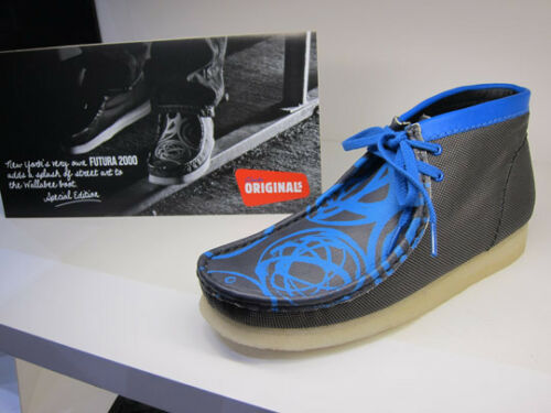 Combi G X Originals Multi Tejido Azul Hombres Wallabees Negro Clarks Uk 6 5 7ZPxnq44