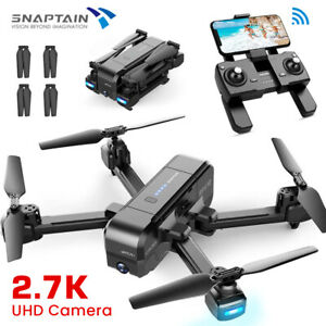 SNAPTAIN SP510 5G WiFi Foldable RC Drone 2.7K Camera Wide Angle FPV Quadcopter