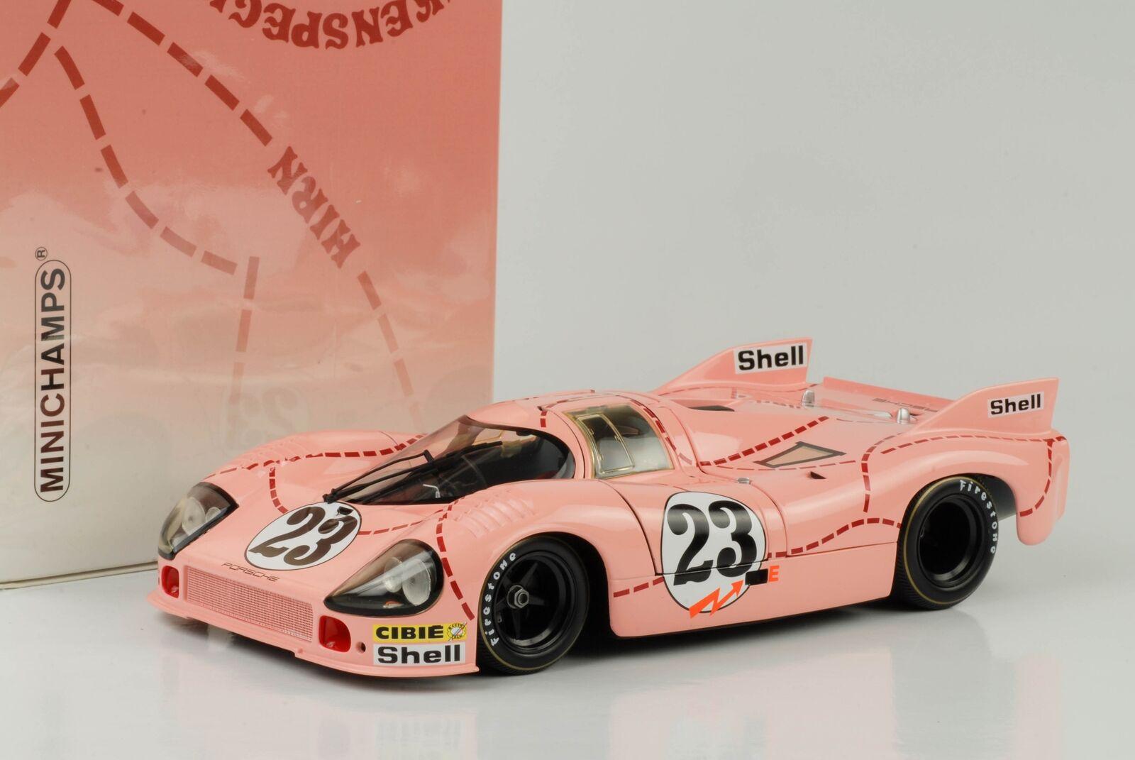 PORSCHE 917 20  23 24 Le Mans 1971 Kauhsen, Van Lennep 1 18 Minichamps