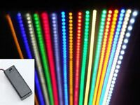 Led Strip Light Kits - Pp3 Battery Box Option - Dolls House/play House/shelf