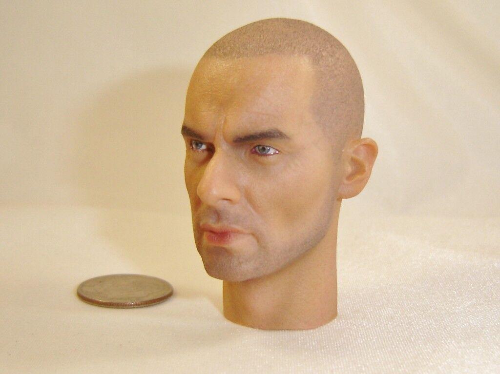 DID WWI German Grenadier Lutz Fedder Head Sculpt 1 6 Toys City Dragon Miniature