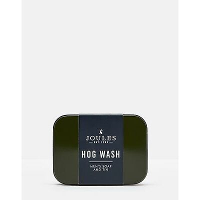 Joules Mens Menss Hog Wash 1 X Soap Bar 150g ONE in DARK GREEN in One Size