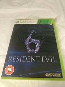 Resident Evil 6 (Microsoft Xbox 360, 2012) **PAL For European System Only