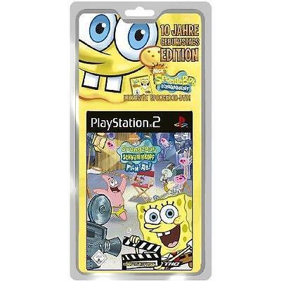 1 von 1 - Play Station 2 Spiel PS2 SpongeBob Schwammkopf Film ab! mit Anleitung