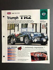 1953-1955-Triumph-TR2-Roadster-IMP-034-Hot-Cars-034-Spec-Sheet-Folder-Awesome-L-K