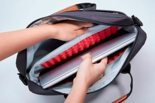 Laptop Waterproof Bag  Waterproof Design Notebook Shoulder Handbag Men Briefcase