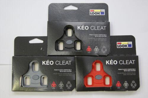 Look Road Keo Cleat Black // Grey // Red