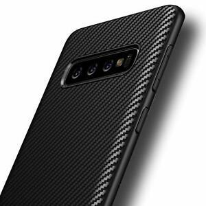 Avana Silikon TPU Schutzhülle für Galaxy S10 Plus - Carbon