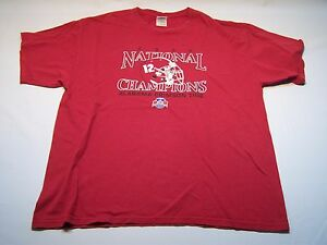 abf2cbe879a Image is loading Vintage-Gildan-Alabama-Crimson-Tide-National-Champions-T-