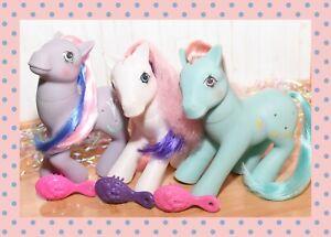 ❤️My Little Pony MLP G1 Vtg Precious Pocket Bunny Hop Sweet Pocket Li'l Pocket❤️