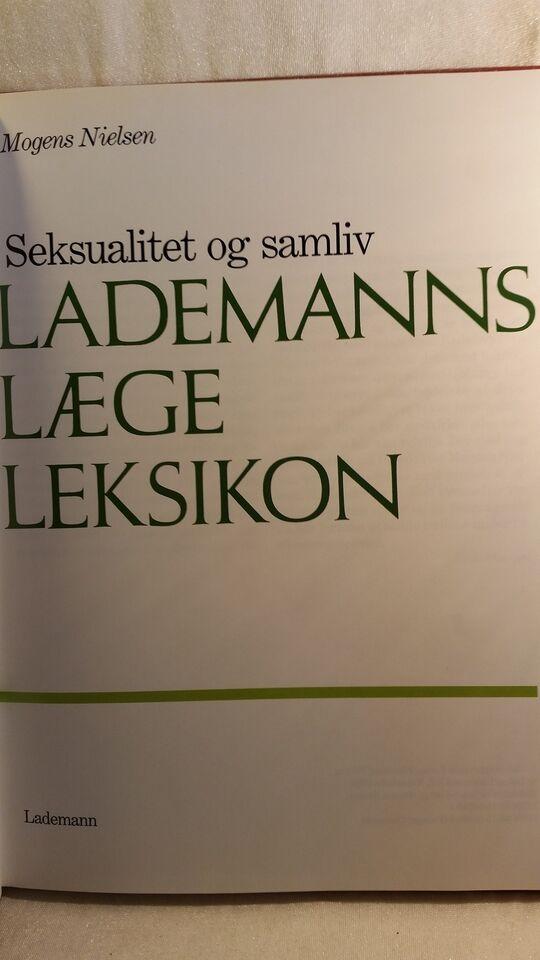 Seksualitet og samliv, Mogens Nielsen (redigeret af),